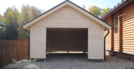 Винтовые сваи для гаража и сарая