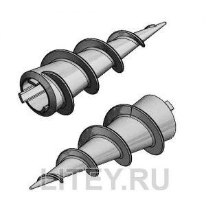 Литой наконечник для свай ВНш-76