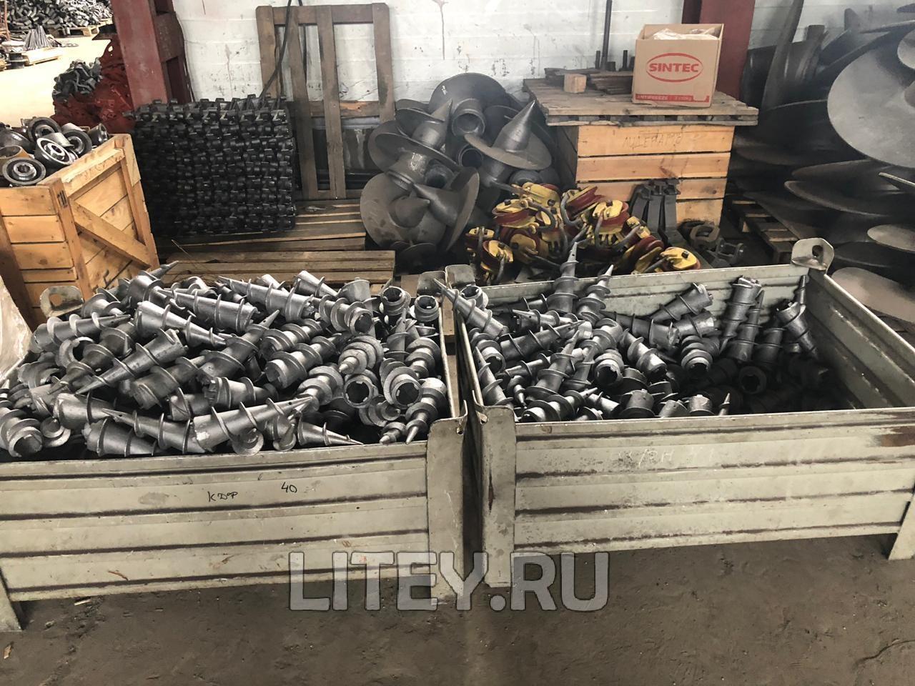 Литой наконечник ВНш-76 для сваи